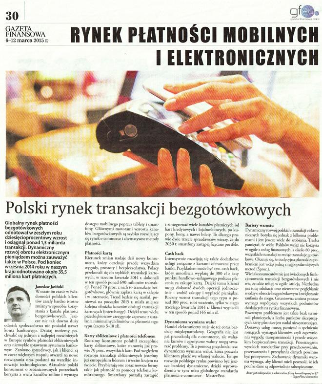 Polski rynek transakcji bezgotówkowych